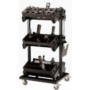 """54"""" Centered Mobile Cart for HSK 50 - 32""""Wx27""""Dx59-1/4""""H Black"""