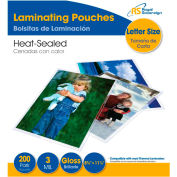 "Royal Sovereign® Letter Size Thermal Laminating Pouches, 9""X11.5"" Letter Size, 3 Mil, 200 Pack"