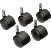 Interion® 50mm Regular Casters, 5 Per Set