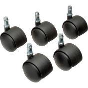 Interion® 50mm Regular Casters, 5 Per Set