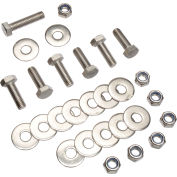 """Replacement Hardware for Base for 72"""" & 96"""" Steel Benches"""