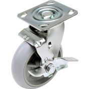 """Global Industrial™ Replacement 6"""" Swivel Caster for Hotel Cart (Model 603575)"""