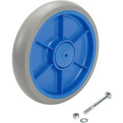 "Replacement 7"" Wheel with Screw & Nut for Model 241301 Global Industrial™ Folding Hand Carts"