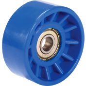 Replacement Nylon Wheel for Model 168110 & 168111 Global Industrial™ Expandable Conveyors