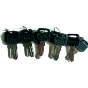 Global Industrial™ Key Blank Number Price for 10 Keys/Pack