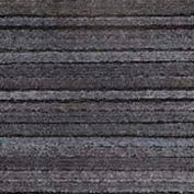 """ROPPE Non-Vulcanized Recycled Rubber Tile 110NPOPN, Square, 12""""L X 12""""W X 3/8"""" Thick, Pine"""