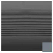 "Stair Tread Round Nose 36""L - Dark Gray"