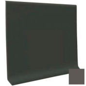 "Cove Base Pinnacle Rubber 4""X1/8""X48"" - Burnt Umber"