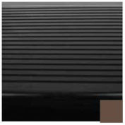"Stair Tread Rubber Square Nose 42""L - Light Brown"