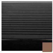 """Stair Tread Rubber Square Nose 42""""L - Toffee"""