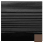 "Stair Tread Rubber Square Nose 48""L - Light Brown"