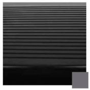 "Stair Tread Rubber Square Nose 48""L - Charcoal"