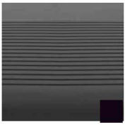 "Stair Tread Rubber Square Nose 54""L X 12-1/4""D - Black"