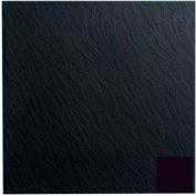 Rubber Tile Slate Design 50cm - Black