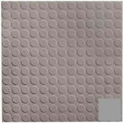 Rubber Tile Low Profile Circular Design 50cm - Slate