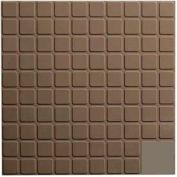 Rubber Tile Square Design 50cm - Lunar Dust