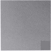 Rubber Tile Raised Circular Pattern 50cm - Steel Gray