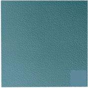 Rubber Tile Raised Circular Pattern 50cm - Colonial Blue