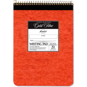 "Ampad® Gold Fibre Retro Pad 20008R, 8-1/2"" x 11-3/4"", Antique Ivory, 70-Sheets/Pad, 1 Pad/Pack"