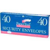 """Roaring Spring #10 Gummed Boxed Envelopes, 9-3/4"""" x 4-1/4"""", White, 40 Per Pack, 24 Packs"""