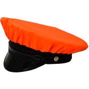 Petra Roc Hi-Visibility Reversible Rain Cap, 300D Oxford/PU Coating, Orange/Black, One Size
