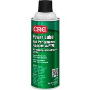 CRC Power Lube® Industrial High Performance Lubricant w/PTFE, 11 Oz, Aerosol, Petroleum Solvent - Pkg Qty 12
