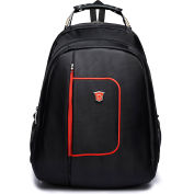 """DUKAP Lapt-Pack Executive Backpack For Laptops up to 15.6"""" - Black"""