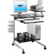 """Techni Mobili Compact Computer Desk, 27-1/2""""W x 19""""D x 36""""H, Espresso"""
