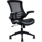Techni Mobili Mesh Task Chair, RTA-8070-BK, High-Back, Black