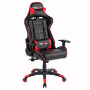 Techni Sport Office PC Gaming Chair - Black and Red