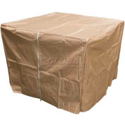 "Hiland Fire Pit Cover GS-F-PCHDCV Waterproof 39""L x 39""W x 28""H Tan"