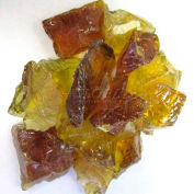"""Hiland Fire Glass RGLASS-CN 1/2"""" to 1"""" Dia. Recycled Chestnut 10 Lbs"""