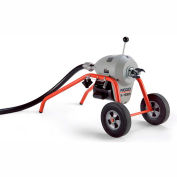 """RIDGID® K-1500 B Frame W/Tool Set & Mitt, 240V, 710RPM, 3/4HP, 1-1/4"""", 105'L x 1-1/4""""W Cable"""