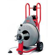"RIDGID® K-750 Drum Machine W/Tool Set, Autofeed & Gloves, 3/4"" Std Equip, 100'L x 3/4""W Cables"