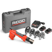 "Ridgid 57363 RP 241 Battery Press Tool Kit w/ProPress Jaws, 1/2"" - 1 1/4"""