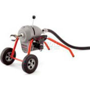 "RIDGID® K-1500SP Sectional Machine, 2"" - 10"" Lines, 120V, W/Drain Cleaning Mitt"