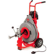 "RIDGID® K-7500 Drum Machine W/Pigtail & Standard Accessories, 5/8""L, 115V, 4/10HP, 200RPM"