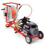 RIDGID® KJ-1350 Electric Jetter W/Dual Pulse & H-10 Cart