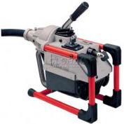 RIDGID® K-60 Sectional Machine W/Pin Key, Rear Guide Hose &  Mitt, 115V, 600RPM, 1/6HP