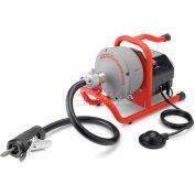 "RIDGID® K-40 Sink Machine W/Inner Core W/Bulb Auger, Autofeed, 115V, 35'L x 5/16""W Cable"