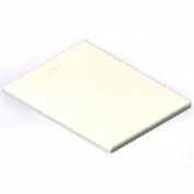 Lid for 6 Bushel cart-  White color