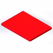 Lid for 6 Bushel cart-  Red color