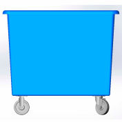 14 Bushel capacity-Mold in caster bracket only -Blue Color