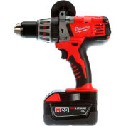 "Milwaukee 0726-22 M28 Cordless Li-Ion 1/2"" Hammer Drill Kit"