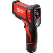 Milwaukee® 2277-21, M12™ Laser TEMP-GUN™ Cordless Thermometer Kit for HVAC/R