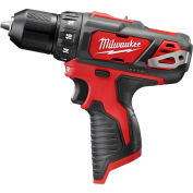 "Milwaukee® 2407-20 M12™ 3/8"" Cordless Drill/Driver (Bare Tool Only)"