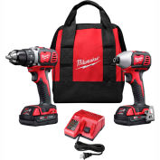Milwaukee 2691-22 M18 Cordless Li-Ion 2-Tool Combo Kit