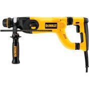 """DeWALT D25263K 8.5 Amp 1-1/8"""" SDS Corded D-Handle Hammer Drill Kit"""
