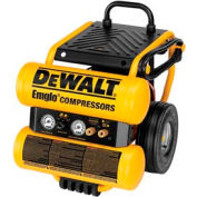 DeWALT® D55154, 1.1 HP, Portable Compressor, 4 Gallon, Horizontal, 125 PSI, 4 CFM, 1-Phase 120V