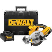 """DeWALT® DC390K 6-1/2"""" (165mm) 18V Cordless XRP™ Circular Saw Kit"""
